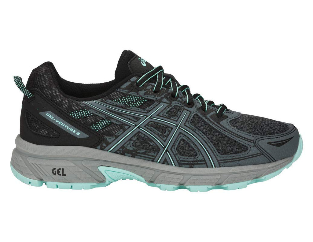 Women's Gel-Venture 6 MX Running Shoe- Steel Grey/ICY Morning