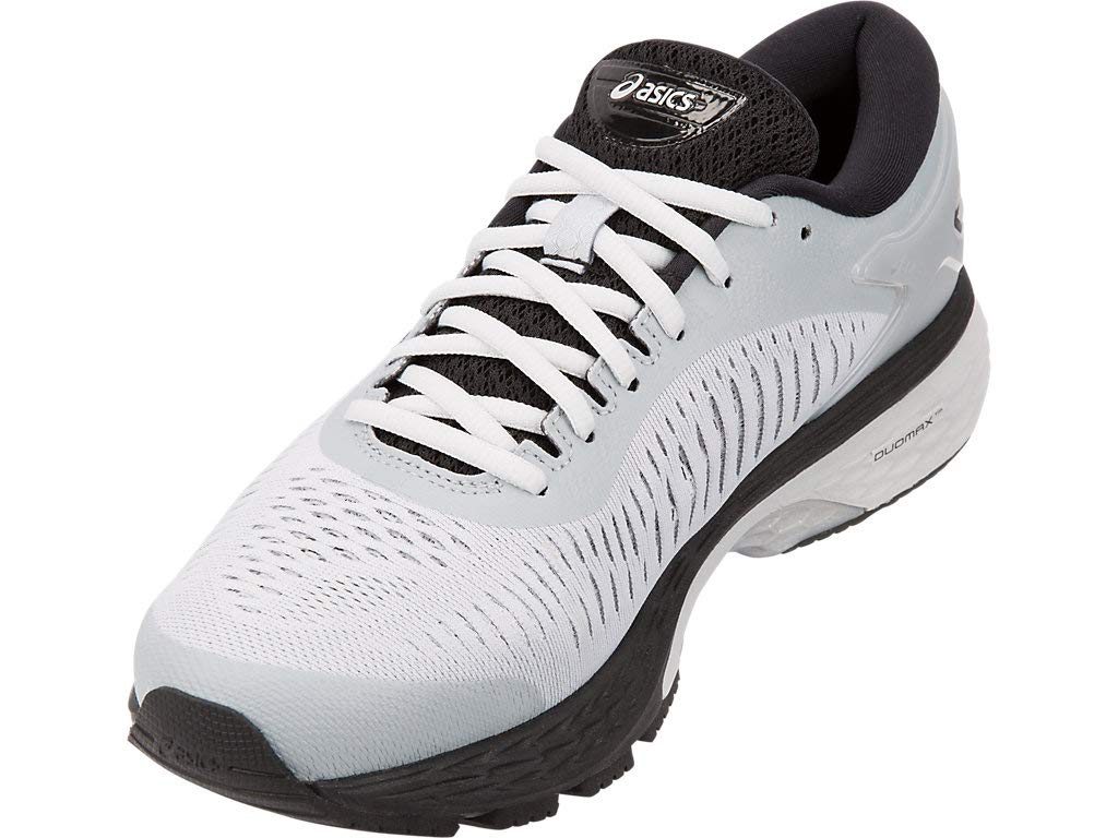 Women's Gel-Kayano 25 Running Shoes- Grey/Silver