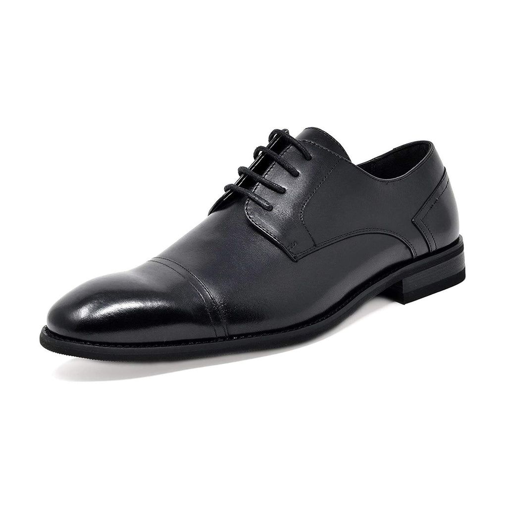 Men's Dress Shoes Cap Toe Oxfords Washington-Black