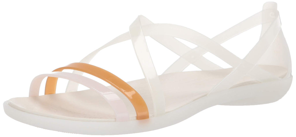 Remember how much you loved those adorable jelly sandals as a young girl thinks of these as the grown-up version. With a playful but practical silhouette and soft, flexible gemlite straps that wear comfortably from day one, they're the perfect warm-weather option for vacation, weekends and date nights.
