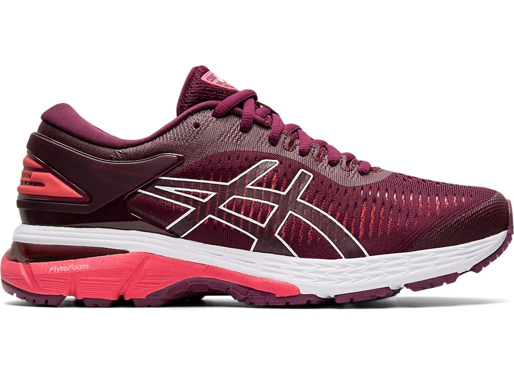Women's Gel-Kayano 25 Running Shoes- Roselle/Pink Cameo