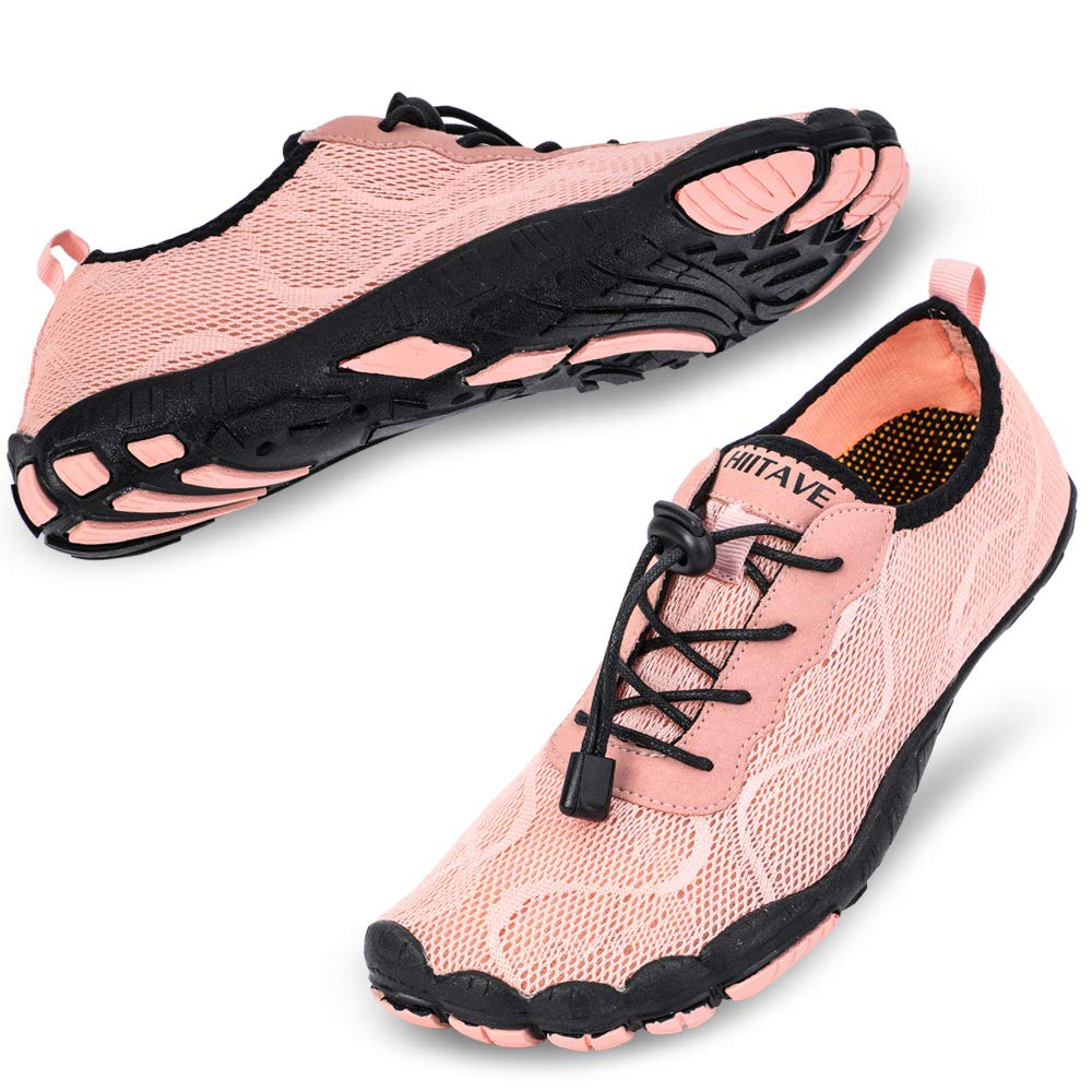 Women's Swimming, Surfing, Diving, Water Shoes- Light Pink