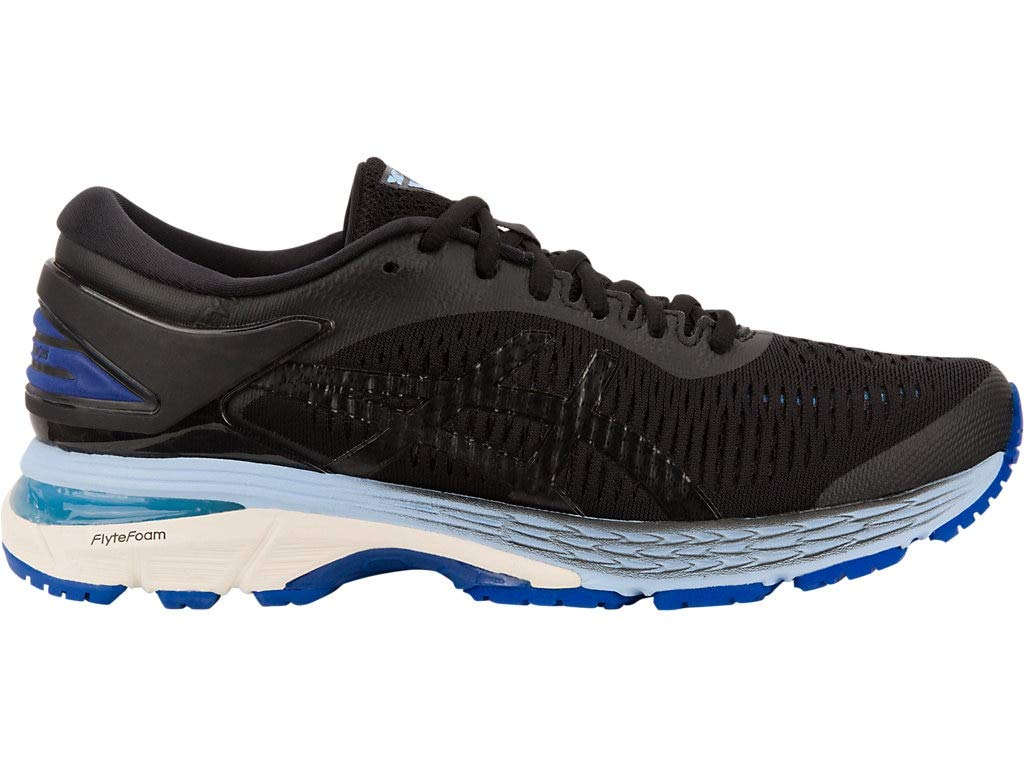 Women's Gel-Kayano 25 Running Shoes- Black/ASICS Blue