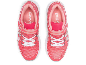 Kid's Contend 5 PS Running Shoes- Pink Cameo/White