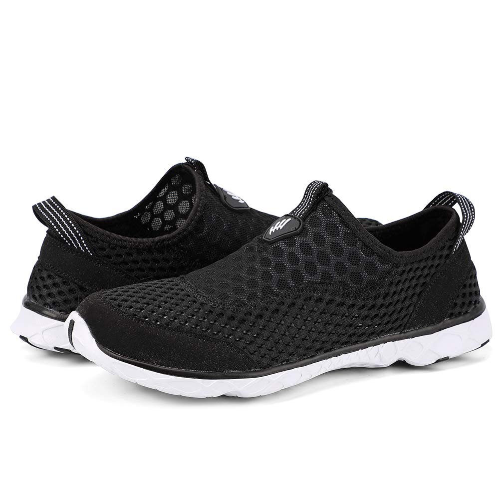 Women's Stylish Quick Drying Water Shoes- Black White 209