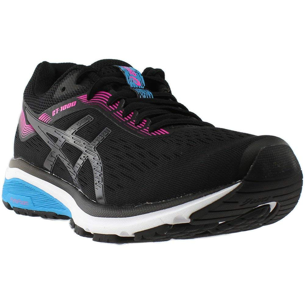 Women's GT-1000 7 Running Shoe- Black Pink Glow