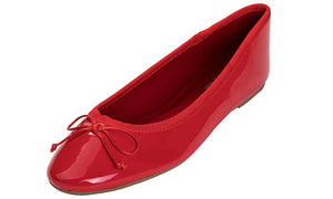 Women's Macaroon Colorful Ballet Flats- Red