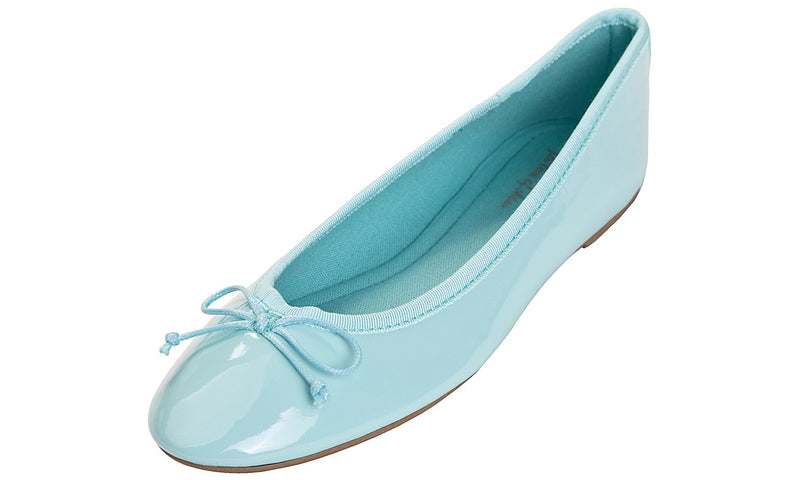 Women's Macaroon Colorful Ballet Flats- Mint