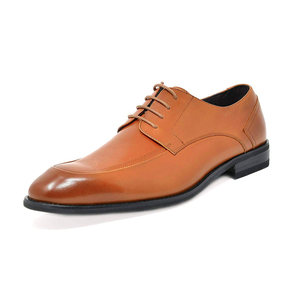 Men's Brown Dress Shoes Classic Oxfords Washington- Brown
