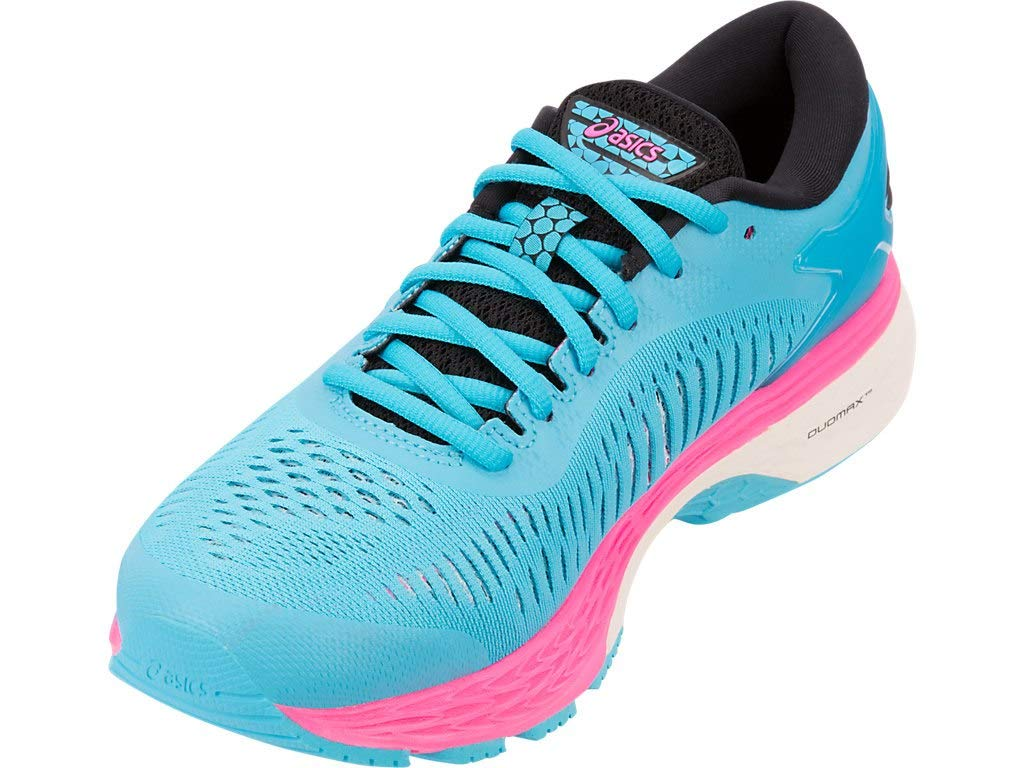 Women's Gel-Kayano 25 Running Shoes- Aquarium/Black