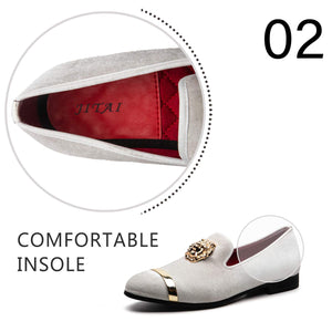 Men's-Penny-Slip-On-Leather-Lined-Luxury-Loafer-White