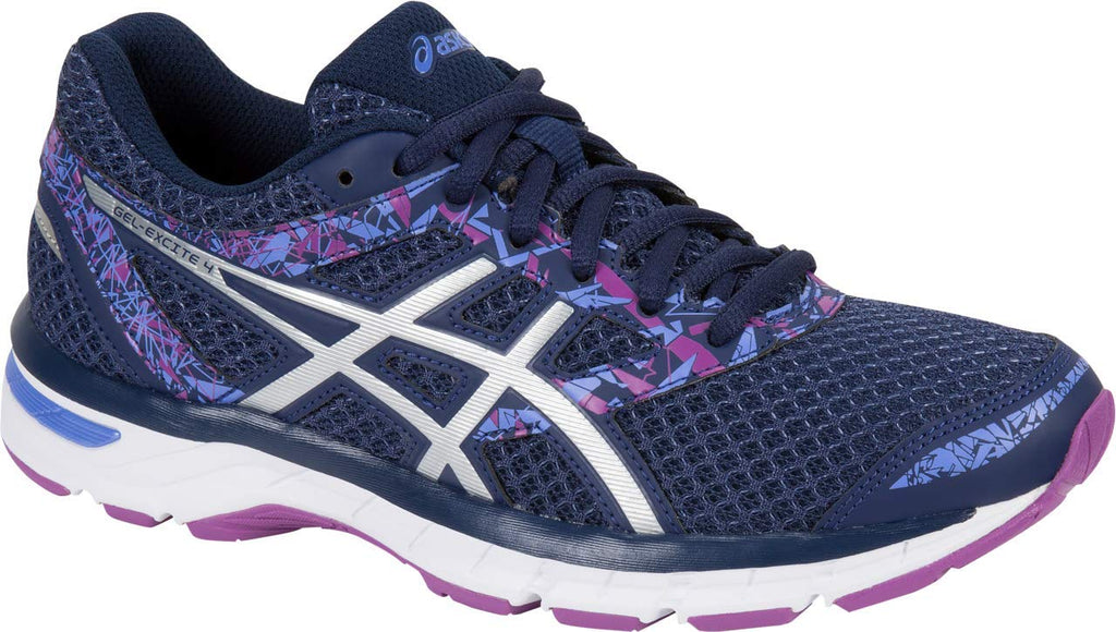 Women's Gel-Excite 4 Women's Running Shoe- Indigo Blue/Indigo Blue/Orchid