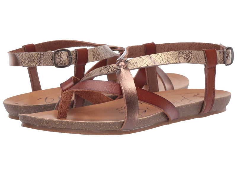 Blowfish Women's Granola- Scotch/Amber/Desert Rose Mirage Snake