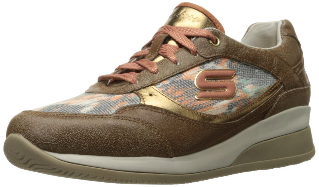 Women's Vita Vivere Fashion Sneakers- Brown