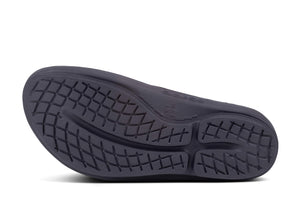 Women's OOlala - Post Run Sports Recovery Thong Sandal  Black/Calypso