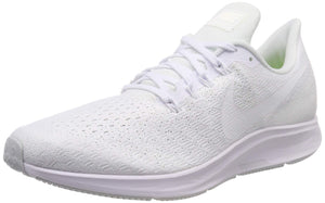 Men's Air Zoom Pegasus 35 Running Shoes- White Summit White Pure Platinum