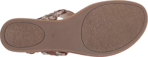 G by GUESS Women's Summer Sandals Jriven -Taupe Burnished Calf Rio Maple