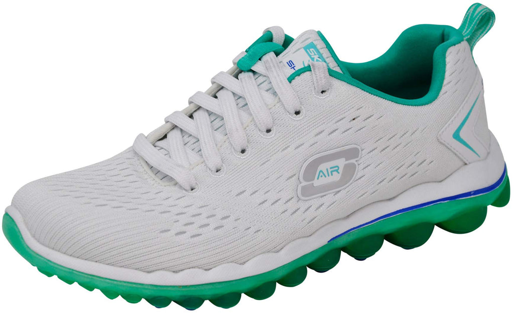 Women's Air Sneakers- White Mint