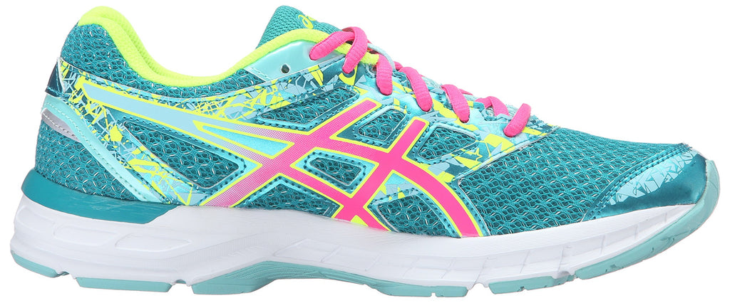 Women's Gel-Excite 4 Running Shoe Lapis /Hot Pink/Safety Yellow