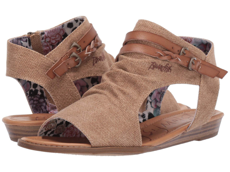 Blowfish Women's Blumoon  Sahara Rancher Canvas Wheat Dyecut