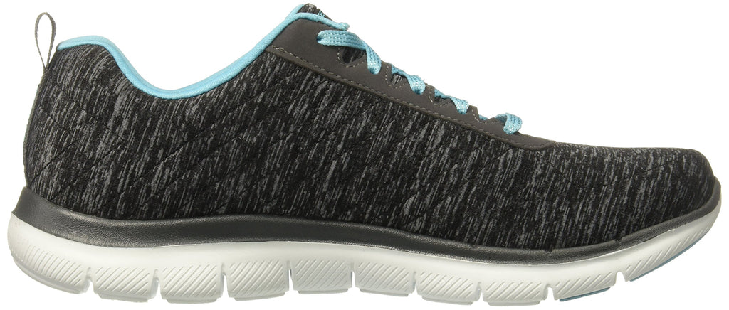 Women's Flex Appeal 2.0 Sneakers- Black Light Blue