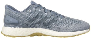 Men's Pure-Boost DPR Running Shoes-  Raw Grey Raw Grey Aero Blue