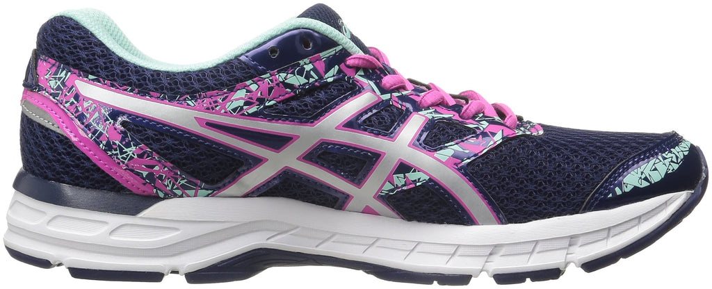 Women's Gel-Excite 4 Running Shoe- Blueprint/Silver/Mint