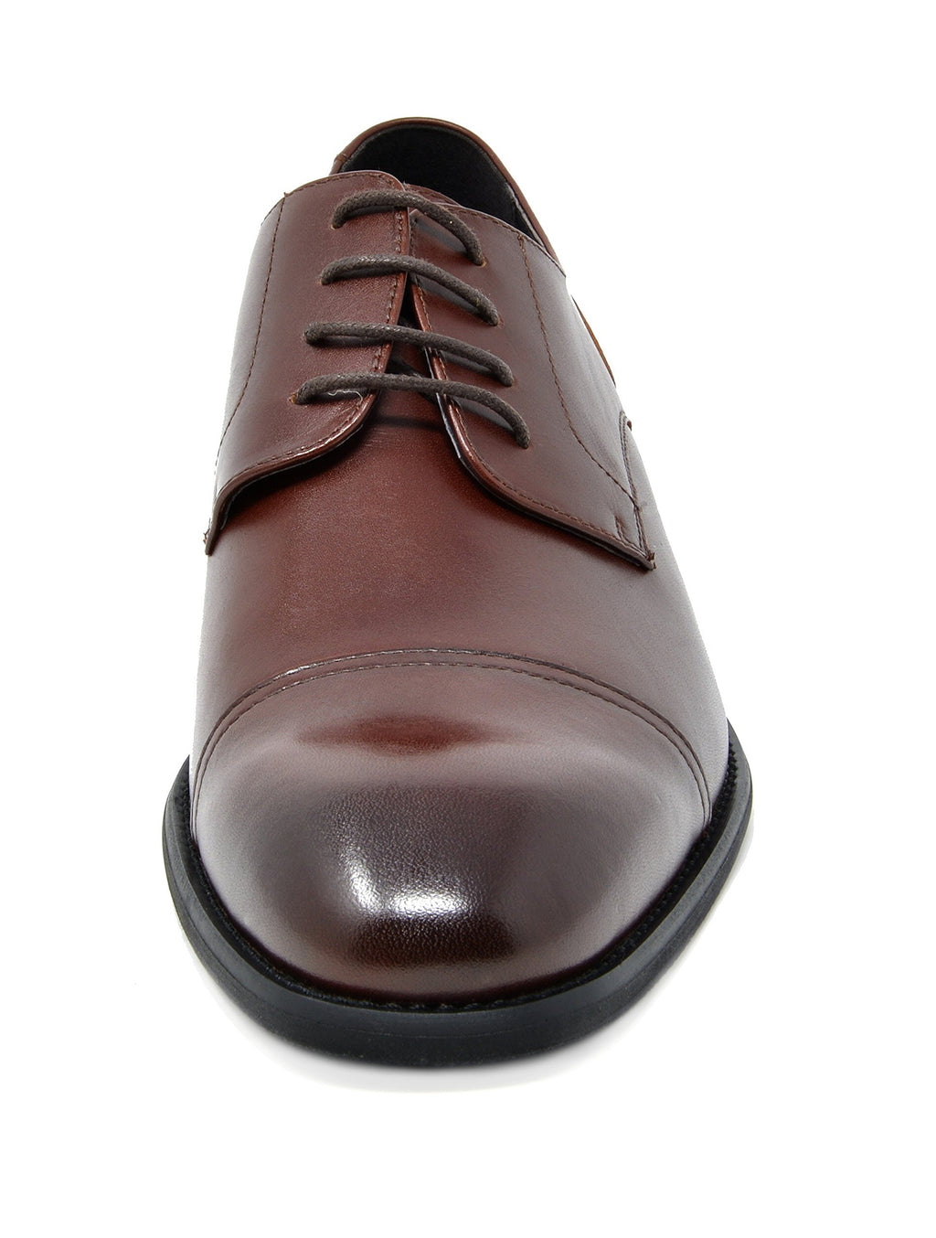 Men's Dress Shoes Cap Toe Oxfords Washington-Dark Brown 2