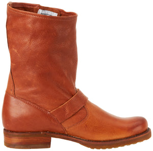 Women's Veronica Short Boots- Whiskey Soft Vintage Leather