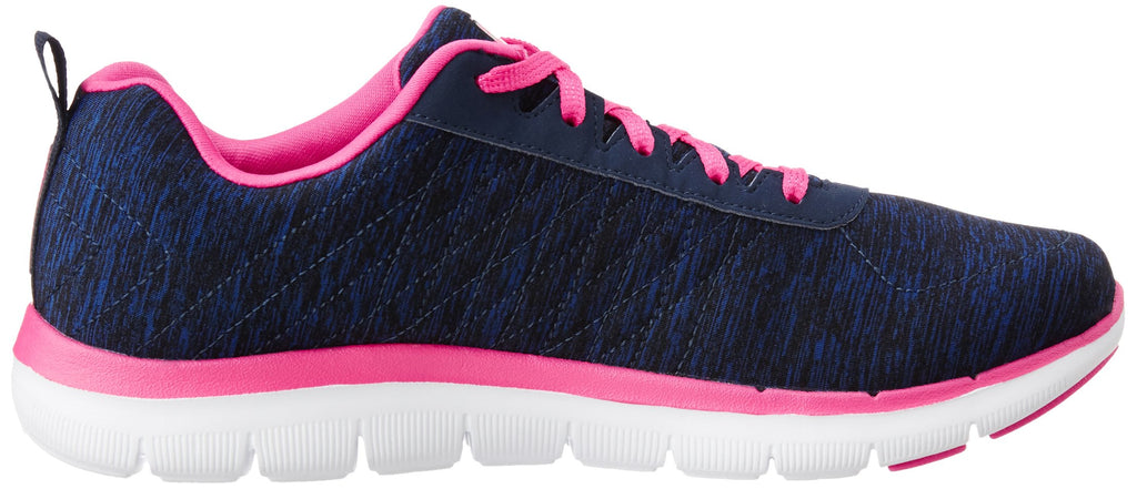 Women's Flex Appeal 2.0 Sneakers- Navy Pink