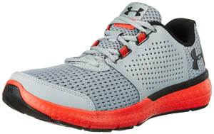 Men's Micro G Fuel Running Shoe- Steel (035)/Pomegranate