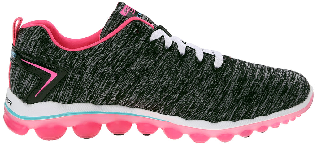 Women's Air Sneakers- Black Hot Pink