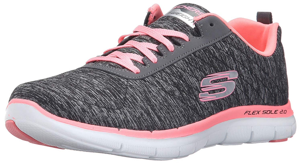 Women's Flex Appeal 2.0 Sneakers- Black Coral