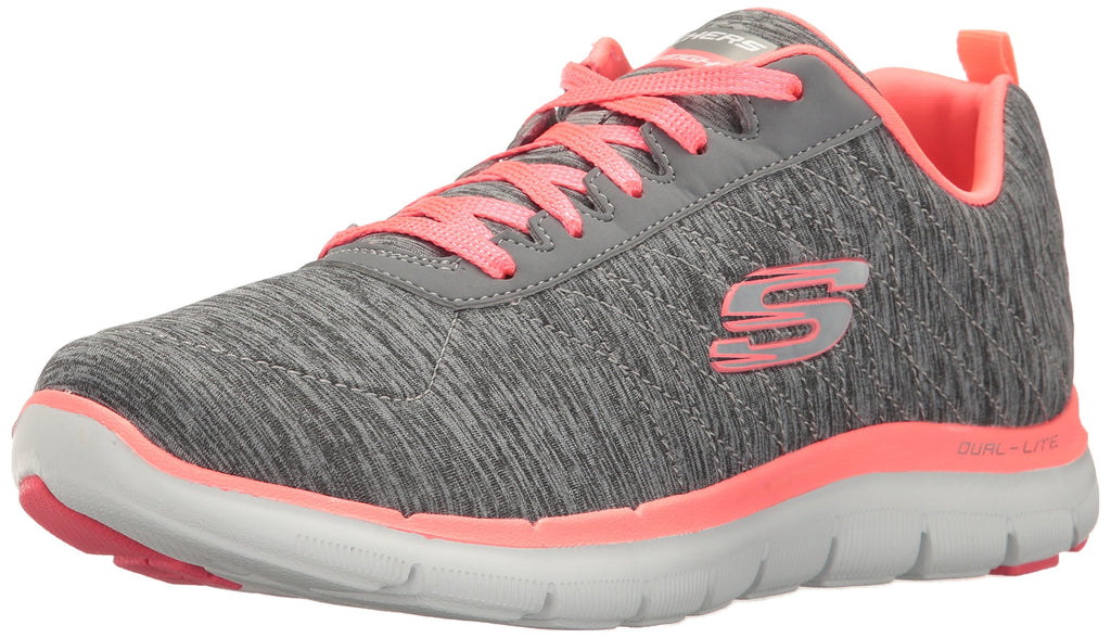 Women's Flex Appeal 2.0 Sneakers- Gray Coral
