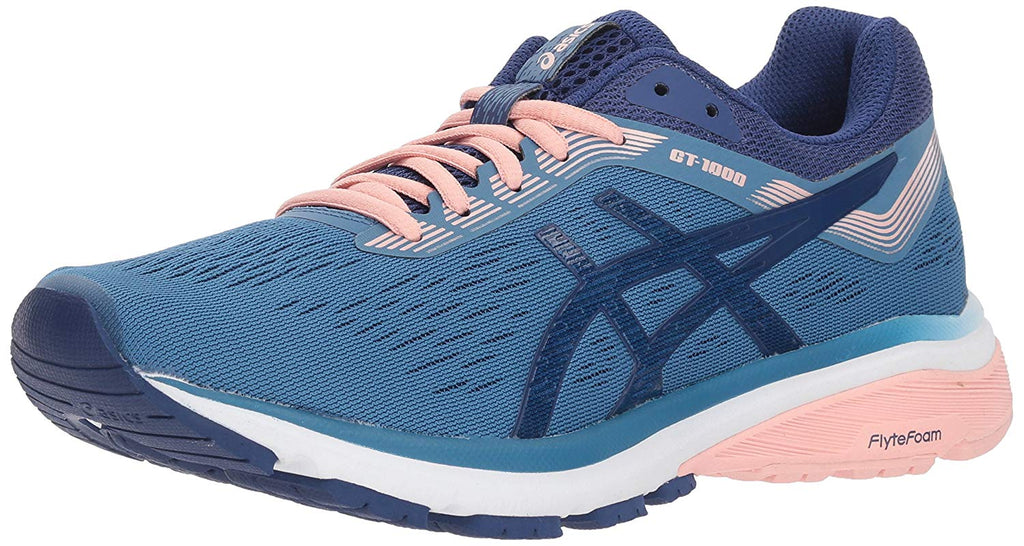 Women's GT-1000 7 Running Shoe- Azure Blue Print
