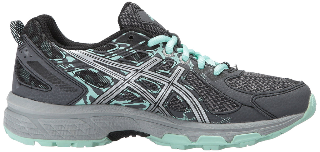 Women's Gel-Venture 6 Running-Shoes-Castle-rock/Silver/Honeydew