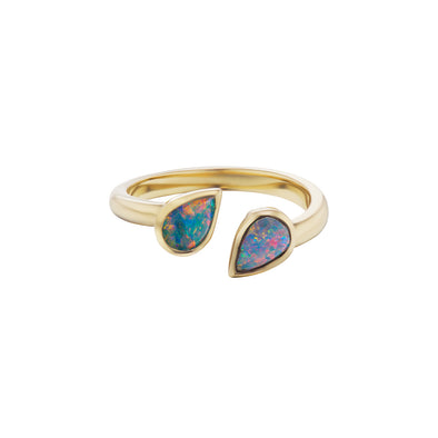 Goccia Pinky Ring Opals