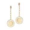 Roman Sun Earrings Gazza Ladra
