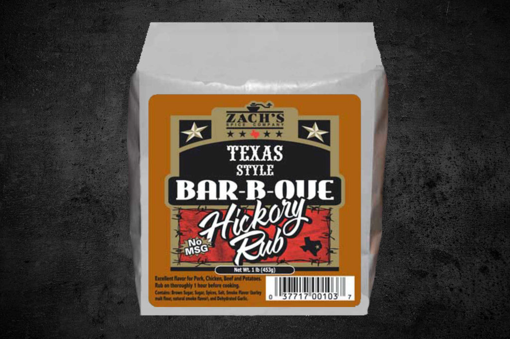 Texas Style Bar-B-Que Hickory Rub