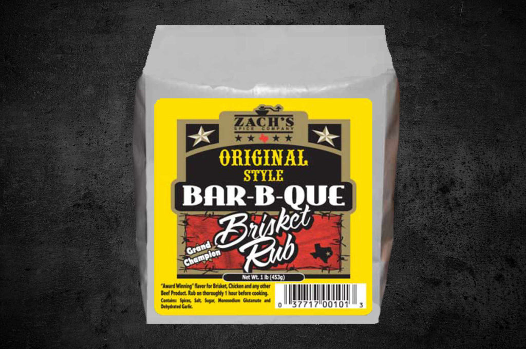 Original Style Bar-B- Que Brisket Rub