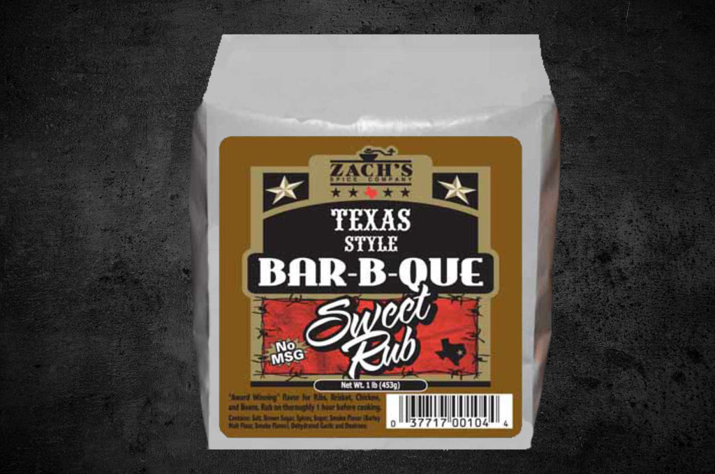 Texas Style Bar-B-Que Sweet Rub