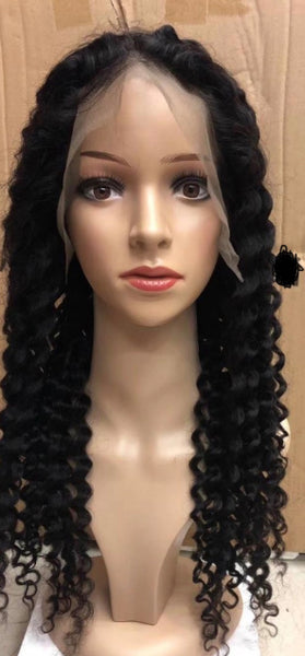 Curly loose wave Lace frontal wig - wevegoturhair.com
