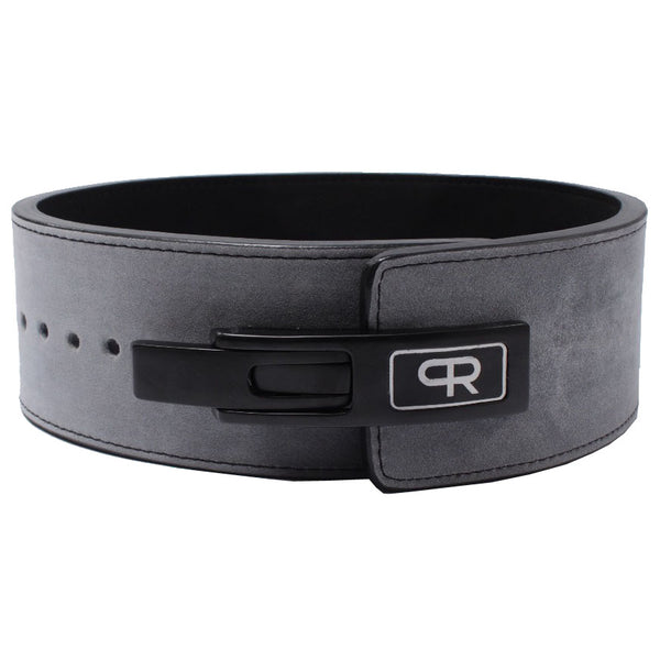 PR Powerlifting 13mm Belt w/ Lever Buckle - Grey/Black