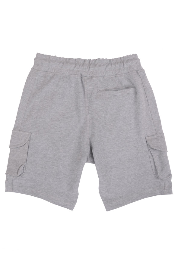 PR Tactical Cargo Shorts PR104- Heather Grey