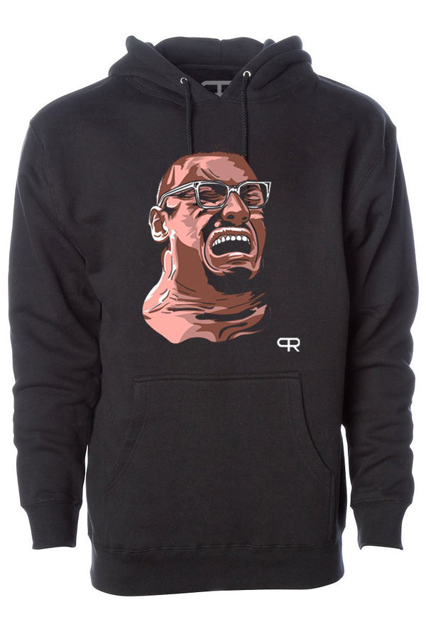 PR Faces of Larry Hoodie - Black
