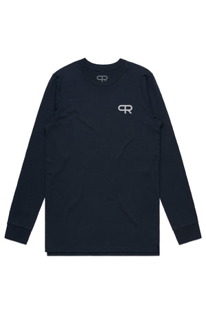 Personal Record 18 Long Sleeve-PR412- Navy