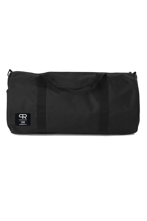 PR Cylinder Duffel Bag- Black