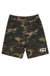 PR Athletic Heavyweight Gym Shorts-PR103-Camo Green