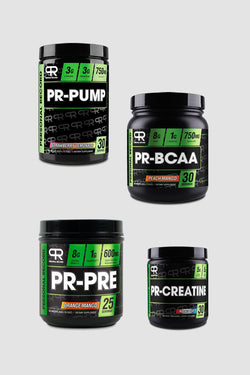 Personal Record Ultimate Supplement Bundle (PUMP, CREATINE, BCAA, PREWORKOUT)