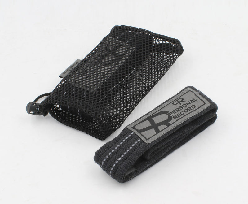 Personal Record Heavy Duty Premium Straps-PR902- Black/Grey